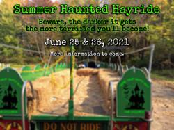 Summer hayride