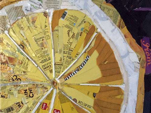 Name Something Yellow #7 (Lemon Slice)