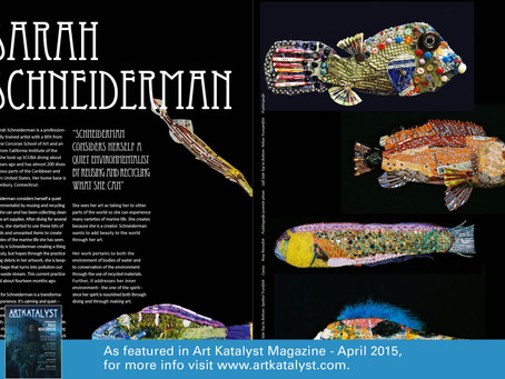 ArtKatalyst Magazine -- April 2015