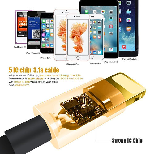 Lightning 3 FT. Charging Cable