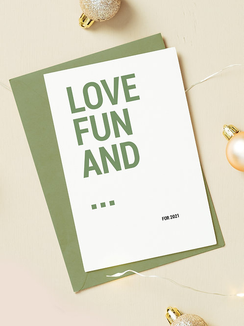 Love fun and ...