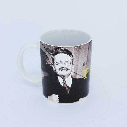Caneca Leon Trotski discurso