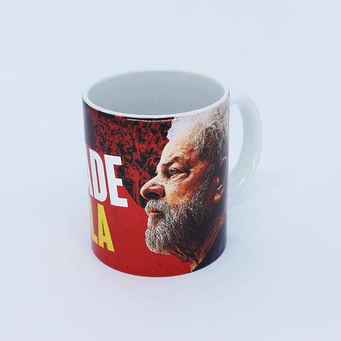 Caneca Liberdade Para Lula