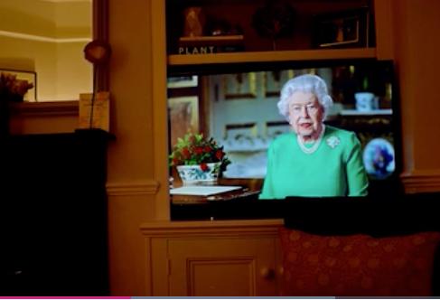 The Queen's MESSAGing masterclass