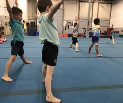 We also have boys gymnastics.