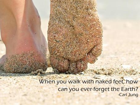 Walking Barefoot & Heart Health!