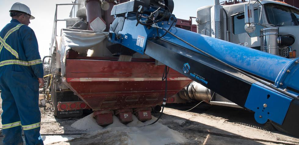 Frac Sand Operation