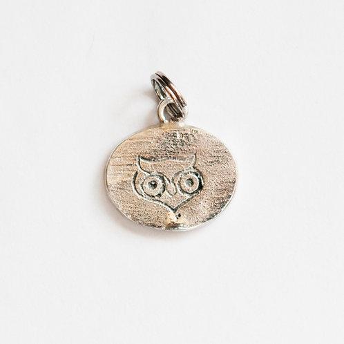 Owl of Minerva Charm