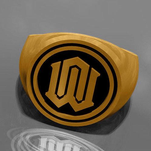 Neue Welt Siegelring Gold