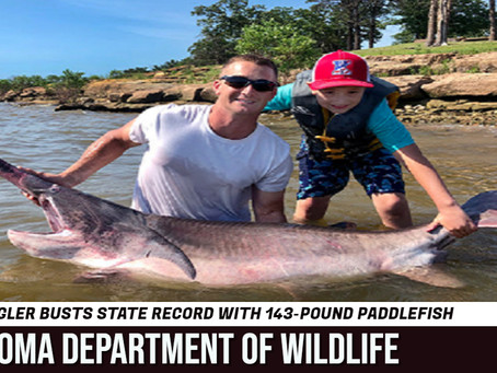 Keifer angler sets new state record with 143 paddlefish