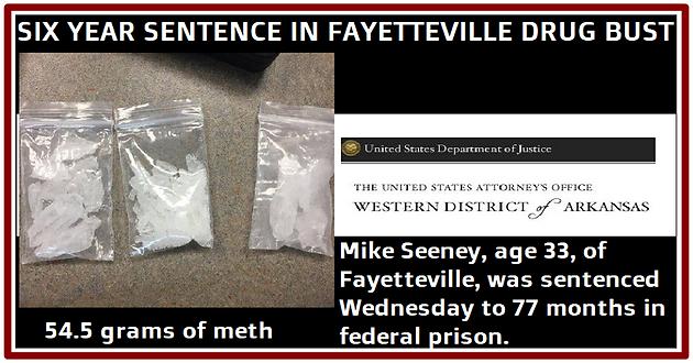 Guilty plea results in 77-month sentence for Fayetteville