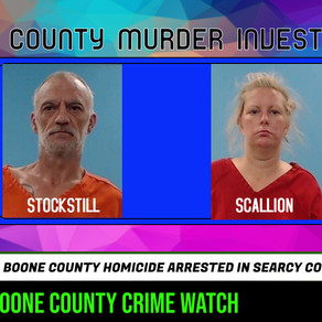 Pair facing multiple felony counts after arrest last week on homicide charges out of Boone County
