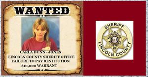 Okahoma Report: Bench warrant issued for Carla Dunn-Jones