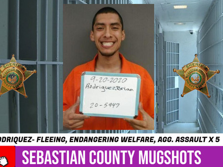 Sebastian County Mugshots: September 20, 2020