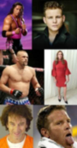 cameo, celebrity, video, bret, hitman, hart, jonathan, lipnicki, chuck, lindell, caitlyn, jenne, andy, dick, brett, favre, comedy, podcast