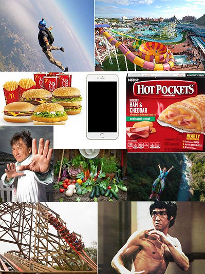 sophie's, choice, skydiving, theme, amusement, park, rides, mcdonalds, food, iphone, cell, phone, hot, pocket, jackie, chan, vegetable, garden, bungee, jump, roller, coaster, bruce, lee, comedy, podcast