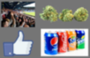 fans weed marijuana facebook thumbs up soda pepsi coke sprite fanta Prestige Worldwide The Podcast