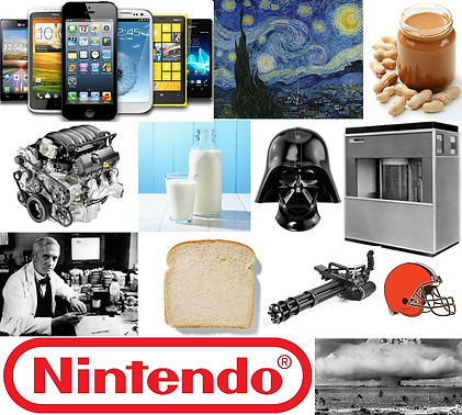 android phone iphone van gogh starry night peanut butter engine milk darth vader computer scientist bread sliced gun cleveland browns nintendo atomic bomb Prestige Worldwide The Podcast