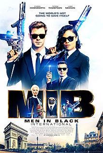 men, in, black, international, chris, hemsworth, poster, movie, trailer, teaser