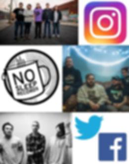 season, 3, free, throw, band, instagram, logo, no, sleep, records,kayak, jones, charmer, emo, music, punk, twitter, facebook
