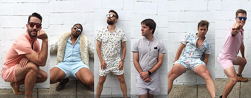 romper, romphim, style, fashion, men, summer, shirt, shorts, kickstarter, comedy, best, frat, douche, white people