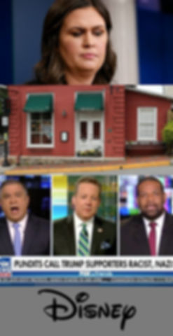 sarah, huckabee, sanders, red, hen, fox, news, joel, payne, and, friends, david, bossie, pundits, disney, comedy, podcast