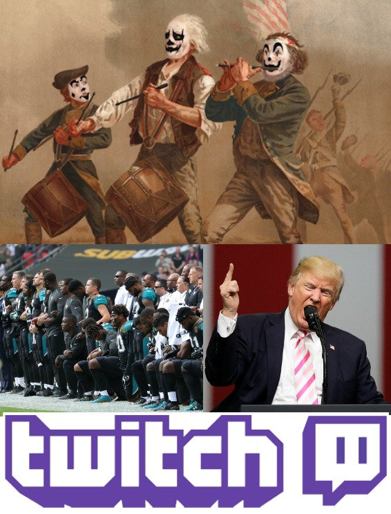 juggalo, rally, march, icp, insane, clown, posse, nfl, kneeling, knee, donald, trump, twitch, podcast, comedy, free, top, best, funniest