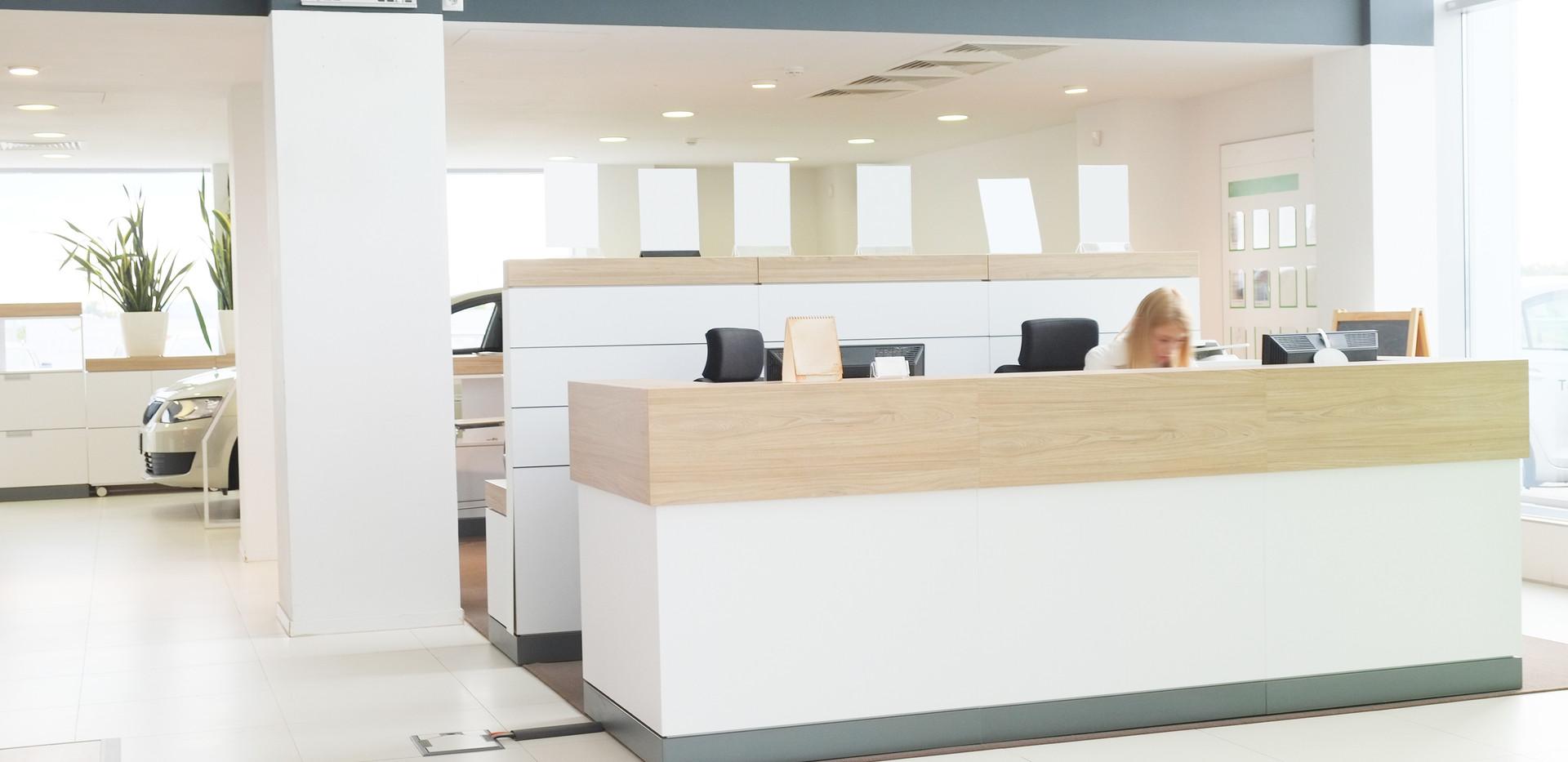 Dealership Office Lighting