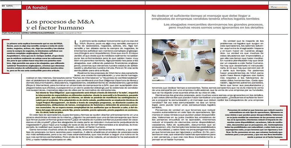 Revista Iuris&Lex - El Economista