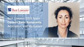 Carmen Baón Romasanta, incluida en Directorio Legal Best Lawyers 2019 España