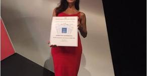 Rosalía Ortega galardonada como Mejor Profesional Internacional de Derecho Deportivo por ISDE