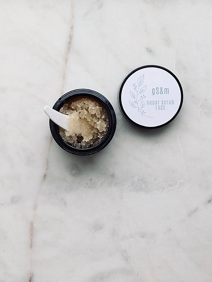 Sugar Scrub for FACE (1 Month supply)