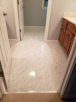 high gloss marble 18x36