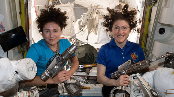 One Giant Leap for (Wo)mankind: First All Female Spacewalk FINALLY Happens!