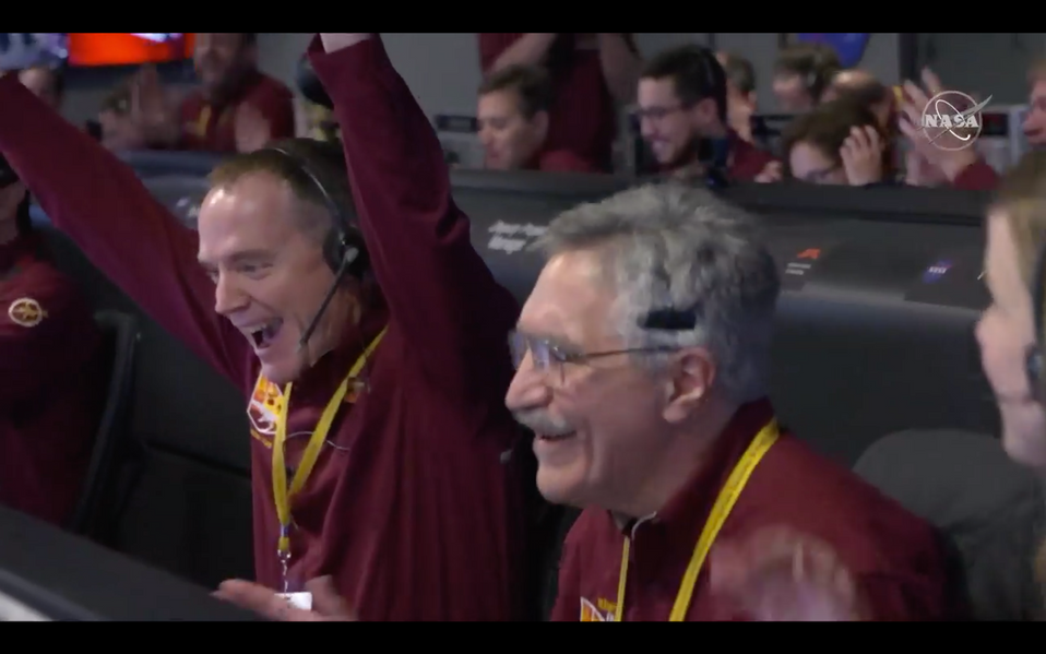 NASA's InSight successfully lands on Mars