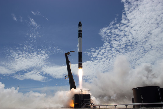 A picture perfect launch of Electron by Rocket Lab