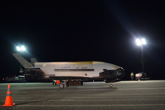 The Air Force's X-37B breaks record in space