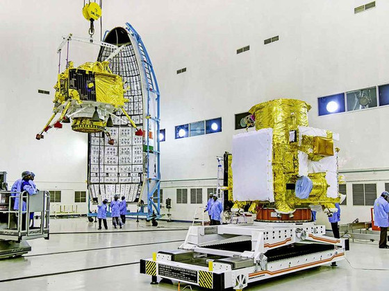 India's Chandrayaan-2 Prepares For Launch