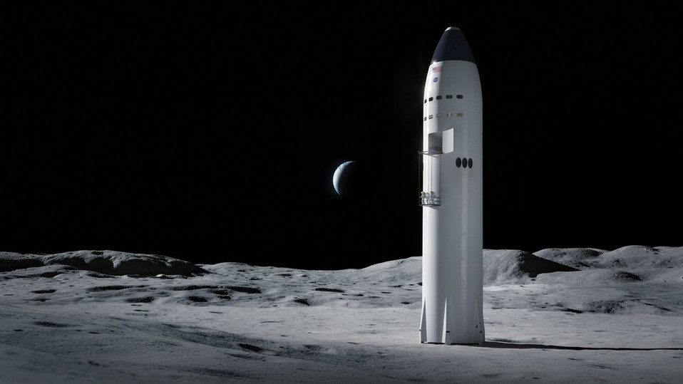 NASA Chooses Three Commercial Partners for Artemis Human Lunar Lander Design