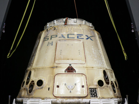 SpaceX's Cargo Dragon spacecraft returns from the International Space Station