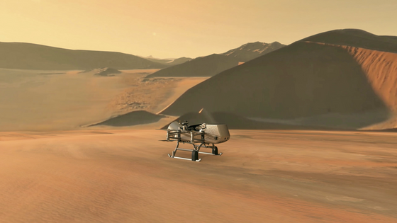 NASA chooses Dragonfly for their New Frontiers Mission