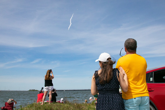Crowds turn out for SpaceX Starlink Launch Amidst Covid-19 Pandemic