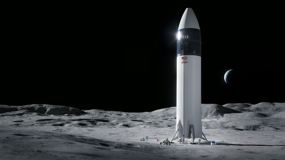 NASA chooses SpaceX's Starship to land Humans on the Moon