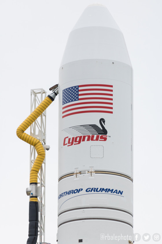 Northrup Grumman's Cygnus spacecraft will launch to the ISS today