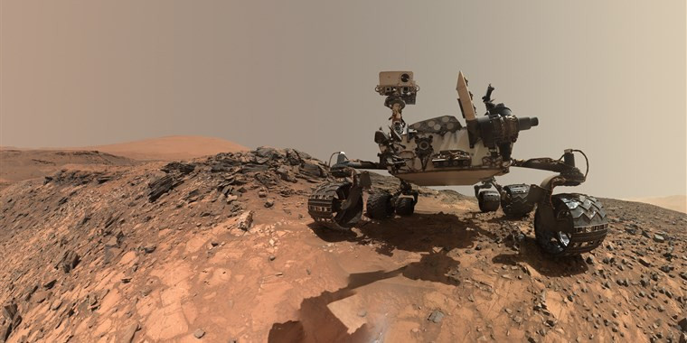 Ancient Organic Material found on the Red Planet