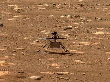 NASA is attempting to fly a Helicopter on Mars this morning