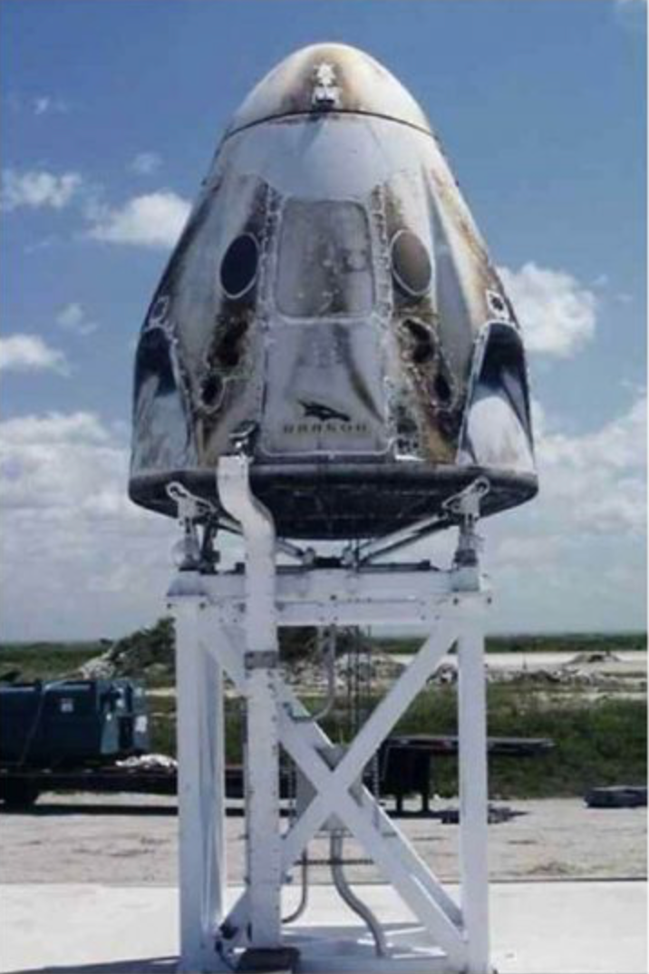 SpaceX updates us on Crew Dragon anomoly