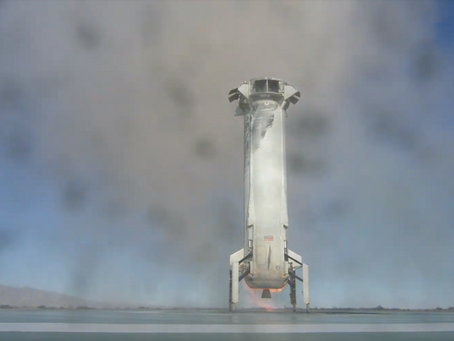 Blue Origin has successful New Shepard launch after a month delay
