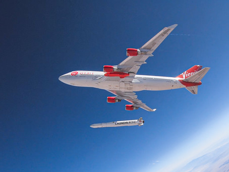 Virgin's 'LauncherOne' Reaches Orbit