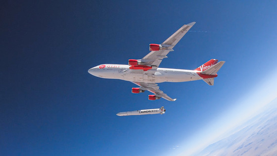 Virgin's 'LauncherOne' Reaches Orbit